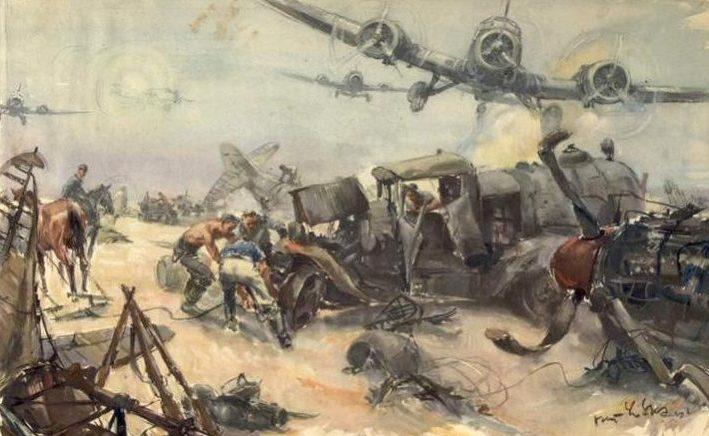Liska Hans. Захваченный советский аэродром.