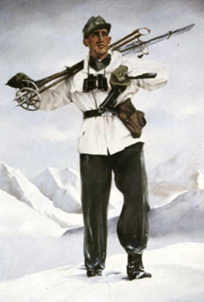 Ottomar Anton. Горные стрелки.
