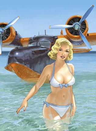 Hugault Romain. Девушки и самолеты.