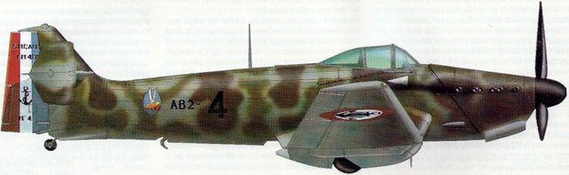 Petit Jean-Jacques. Истребитель Loire-Nieuport 401.