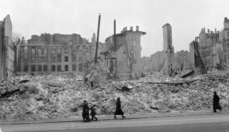 Крещатик. 1942 г.