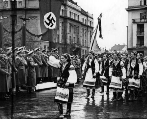 Празднование второй годовщины освобождения Киева от большевиков. 19 сентября 1943 г.