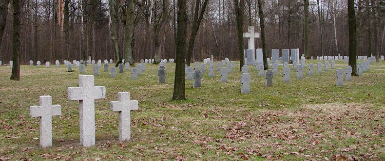 Братски е могилы немецких солдат.