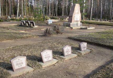 г. Стренчи. Воинское захоронение на территории Нового городского кладбища по улице Пулквежа Земитана, где похоронено 22 советских воина. На южной стороне могил в 1966 году установлен памятник.