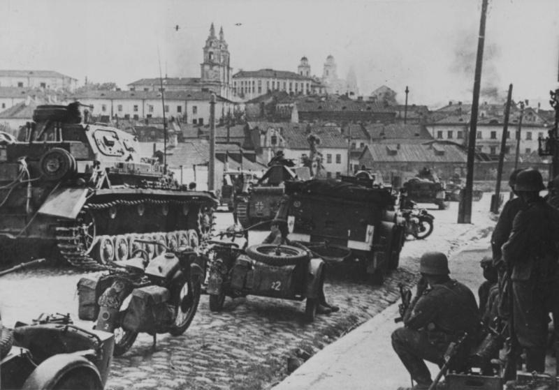 Околицы Минска. 1941 г.