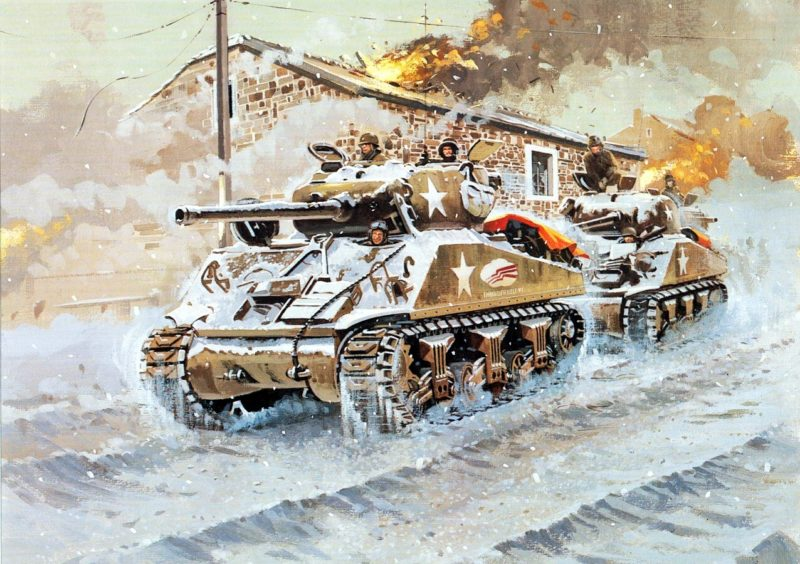 Howard Gerrard. Танк Sherman М-4.