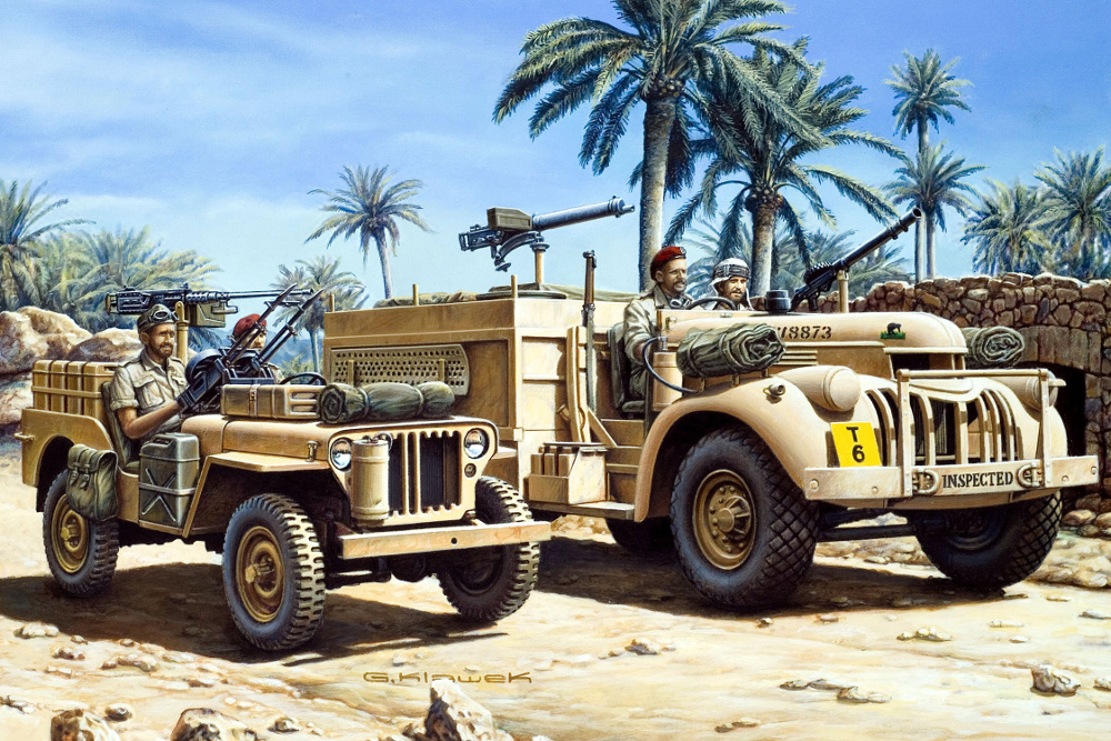 Klawek G. Внедорожники «Jeep» и «Chevrolet».
