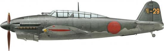 Thierry. Истребитель Yokosuka D-4Y1-C.