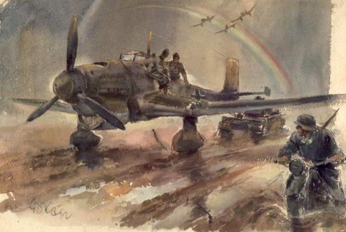Liska Hans. Аэродром.