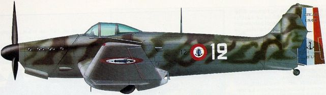 Petit Jean-Jacques. Истребитель Loire-Nieuport 411.
