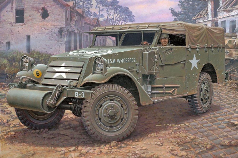 Klawek G. Внедорожник M3A1 Scout Car.