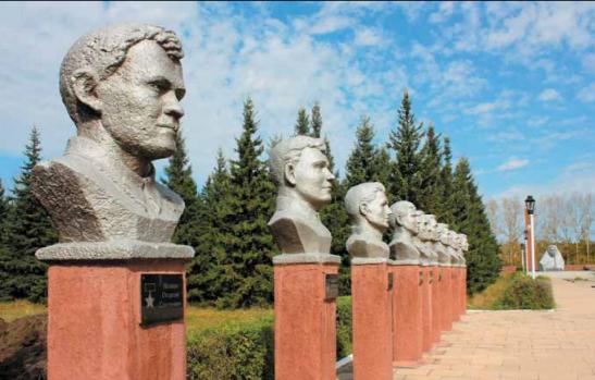 Алея Героев Советского Союза.