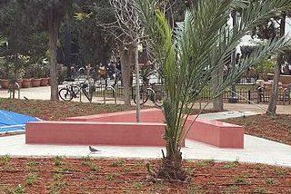 г. Тель-Авив. Памятник геям жертвам Холокоста.