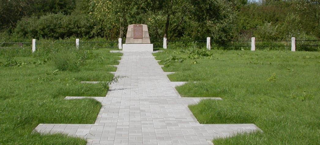 г. Каунас. Памятник на улице Европы, установлен на месте массового захоронения погибших советских военнопленных. В девятнадцати общих могилах покоится почти 10 тысяч советских военнопленных, погибших в 1941–1942 годах. Все похороненные неизвестны.