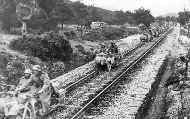 Наступление во Франции. 1940 г.