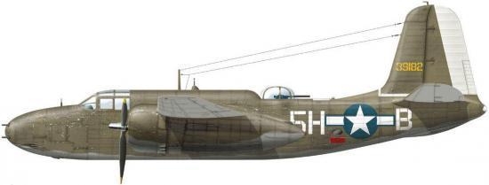 Dekker Thierry. Бомбардировщик Douglas A-20G-25-DO.