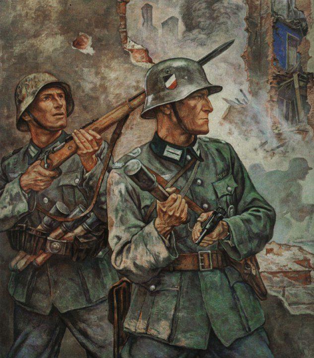 Eber Elk. Сражение за Варшаву.