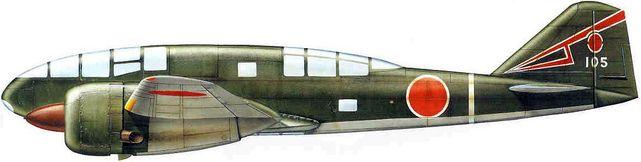 Dhorne Vincent. Истребитель Ki-46-II.