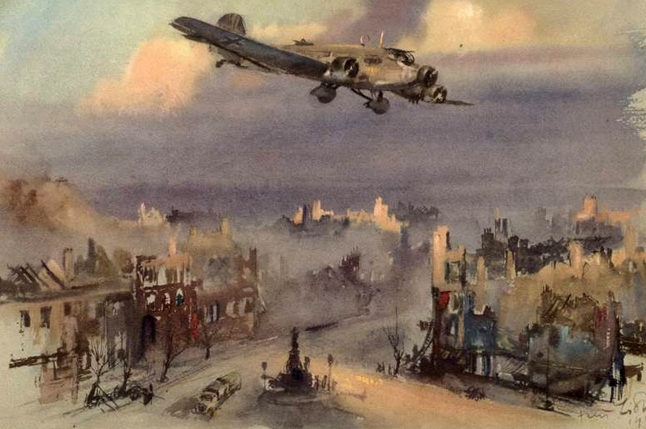 Liska Hans. Транспортный Ju-52.