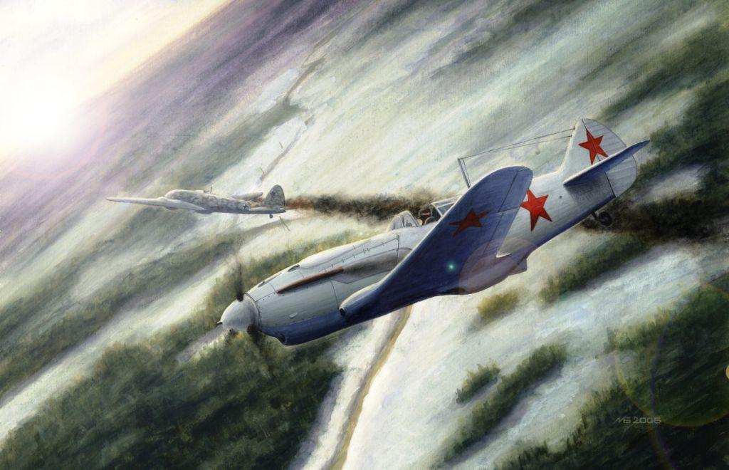 Былкин Максим. Воздушный бой.