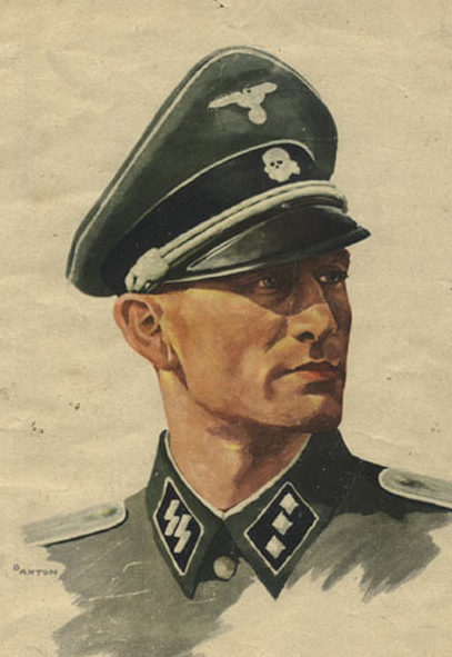 Ottomar Anton. Солдаты СС.