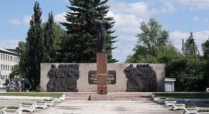 с. Мамонтово. Мемориал воинам, погибшим на войне.