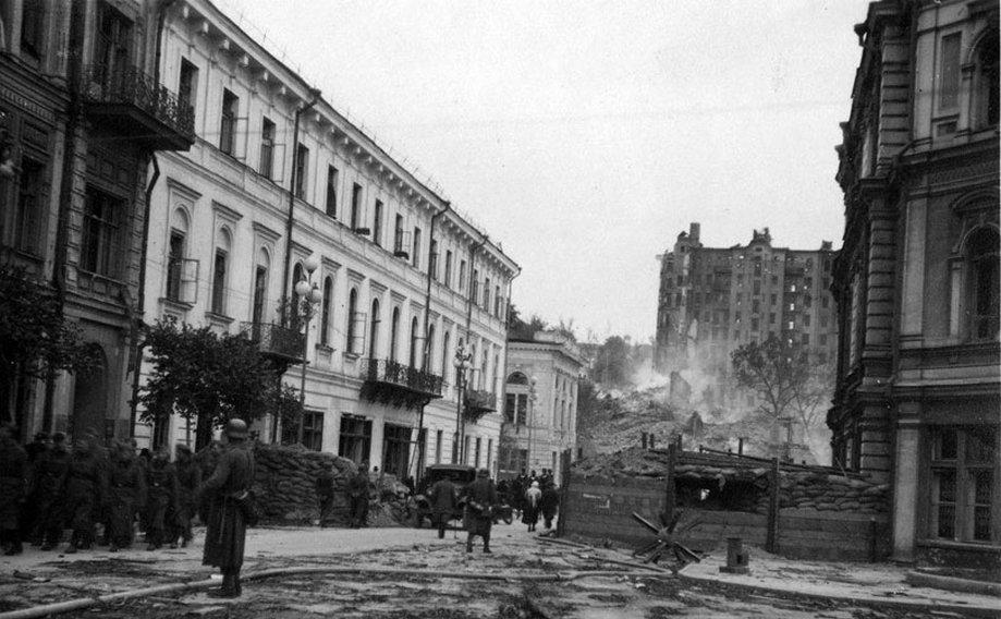 Взрывы на Крещатике. 24-28 сентября 1941 г.