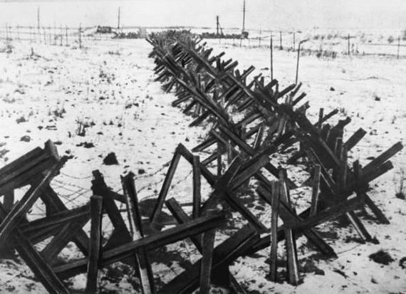 «Чешские» противотанковые ежи «Igelhindernisse».