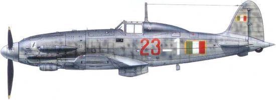 Dekker Thierry. Истребитель Macchi MC-205 «Veltro».