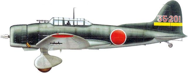 Dhorne Vincent. Истребитель Aichi D-3A1.