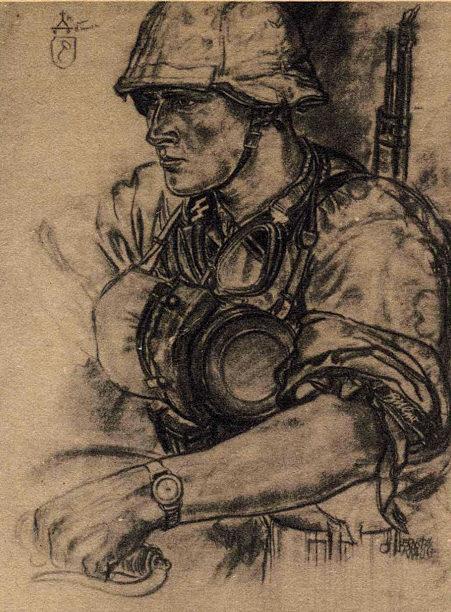 Krause Ernst. Солдаты СС.