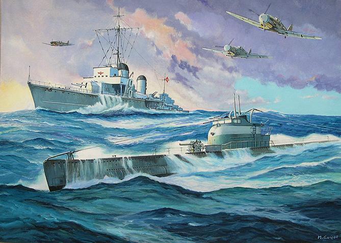 Guyot Michel. Флот Франции.