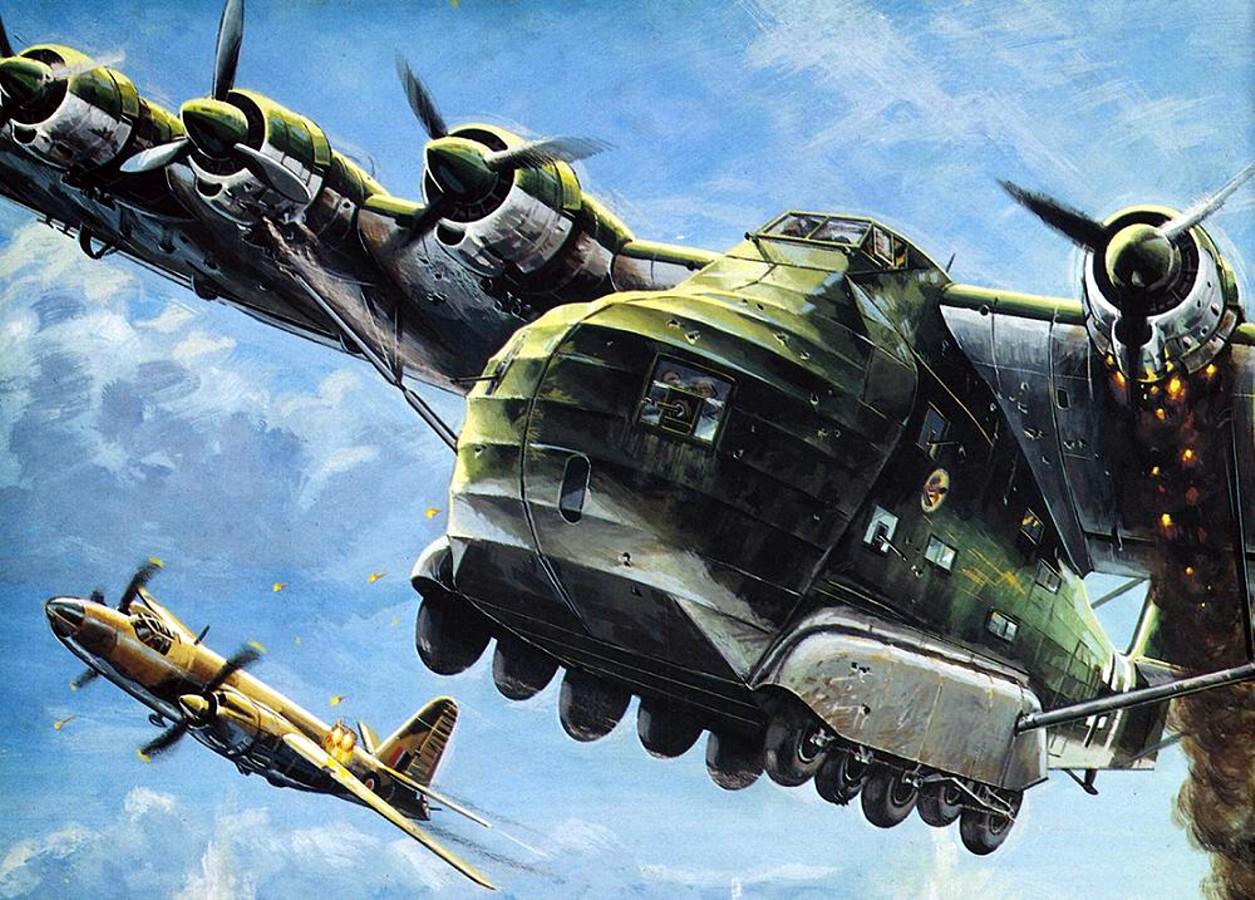 Labeyrie Lionel. Военно-транспортный самолет Me.323 «Gigant».