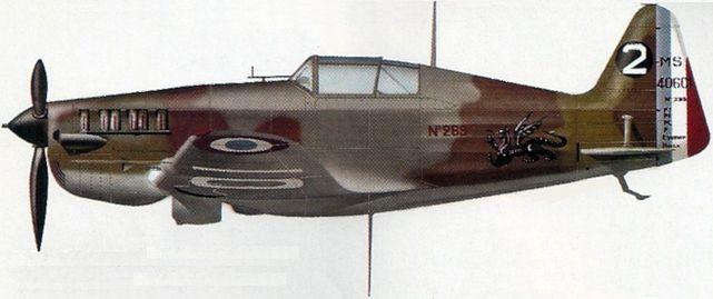 Petit Jean-Jacques. Истребитель MS-406.
