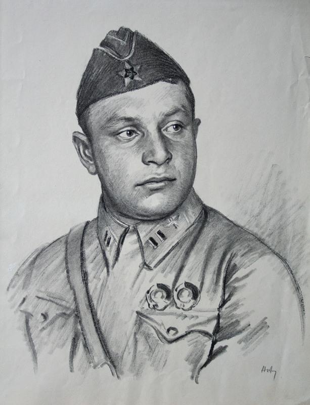 Авакумов Николай. Герой Советского Союза Рычагов.