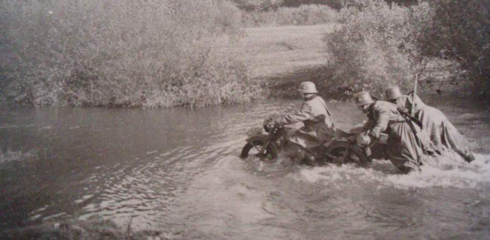 Переправа. Восточный фронт. 1941 г.