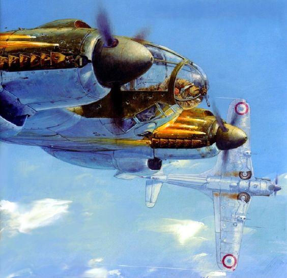 Labeyrie Lionel. Бомбардировщик Не-111.