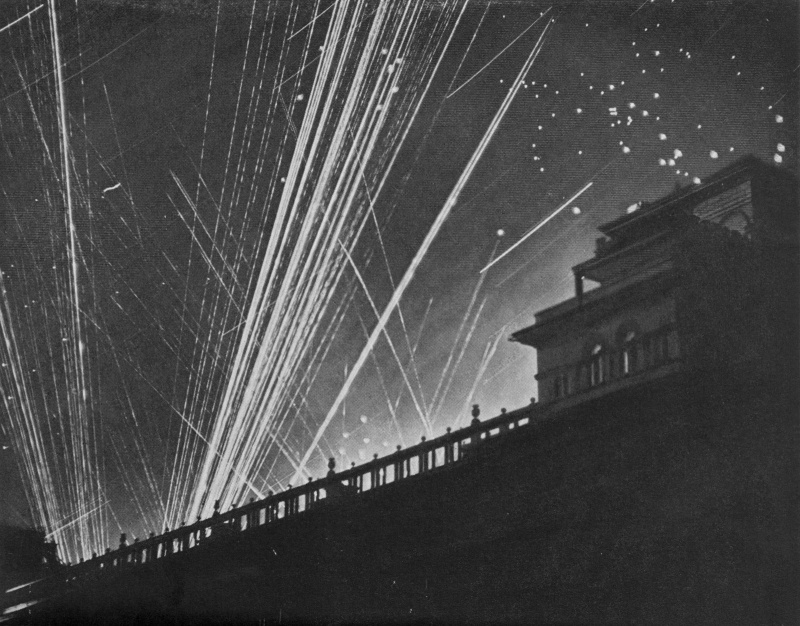 Воздушный налет. 26 июля 1941 г.
