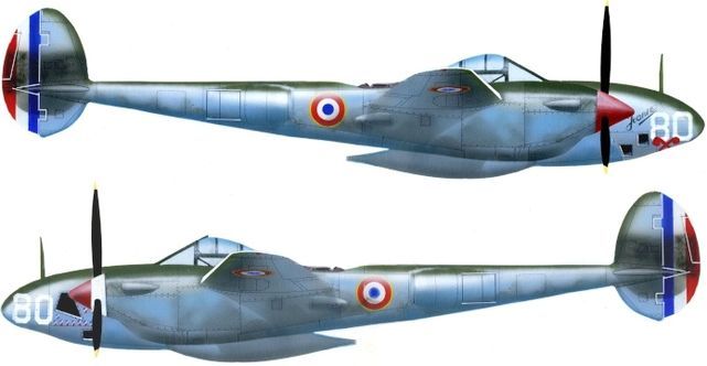 Petit Jean-Jacques. Истребитель Р-38.