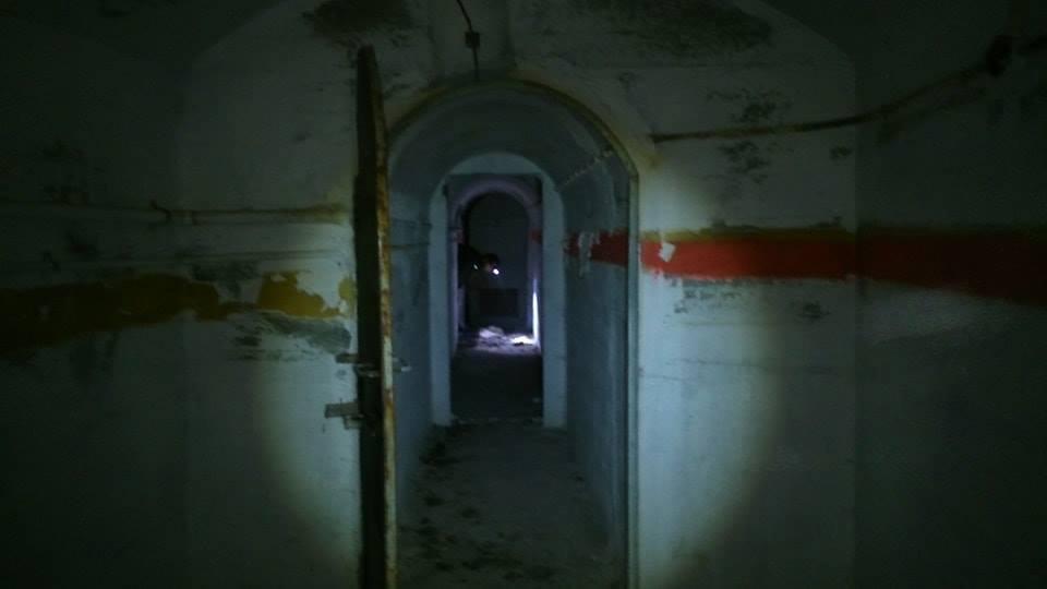 Коридоры подземелья.