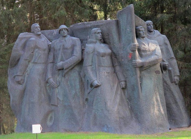 Памятник воинам-освободителям в Груто парке.