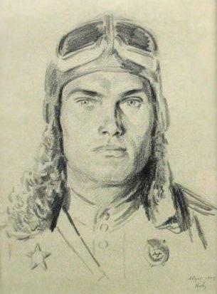Авакумов Николай. Летчик Г. Новиков.