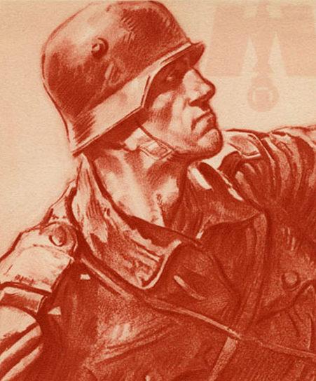 Albrecht Felix. Солдат Вермахта.