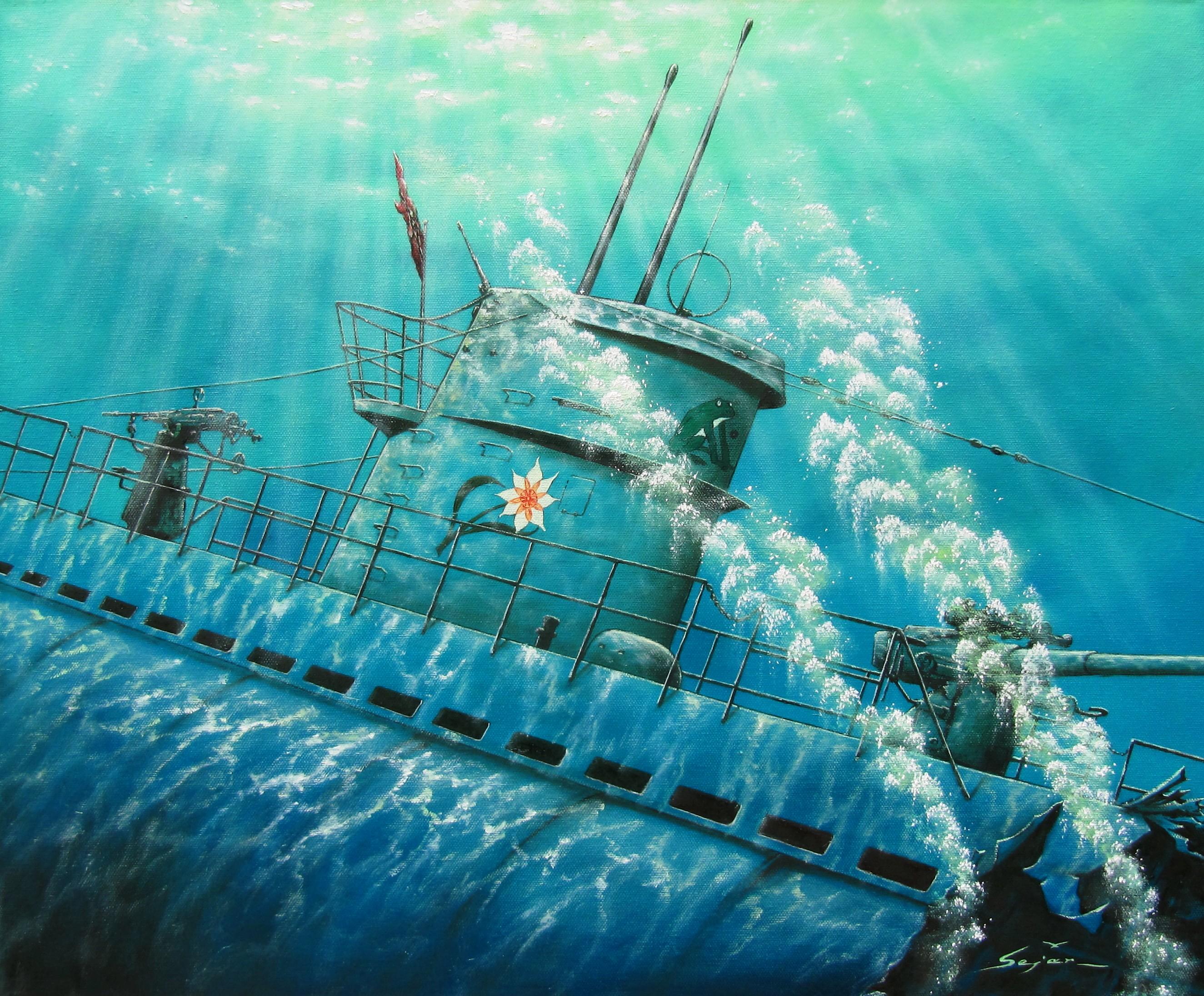 Бекиров Сеяр. Подлодка «U-124». Последний Вздох.