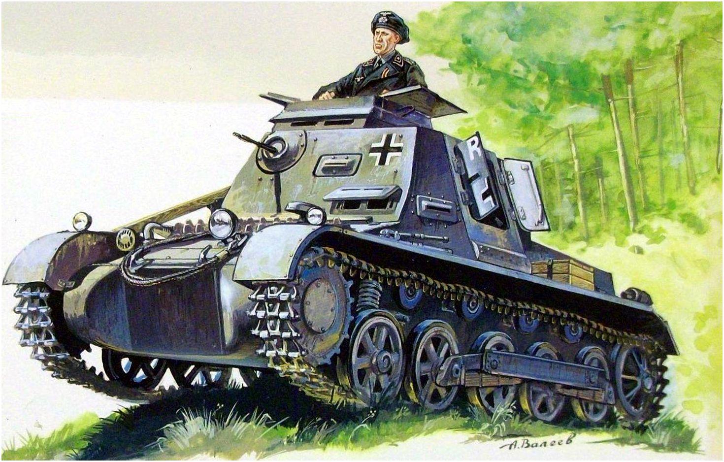 Валеев Антон. Танк Panzerbefehlswagen I.