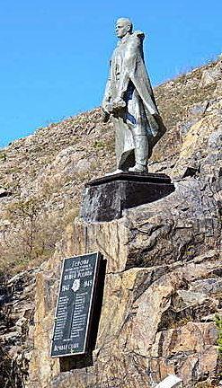 с. Колывань Курьинского р-на. Мемориал героям-рабочим Колыванского камнерезного завода, погибшим за свободу и независимость нашей Родины 1941-1945. Мемориал находится на территории завода.