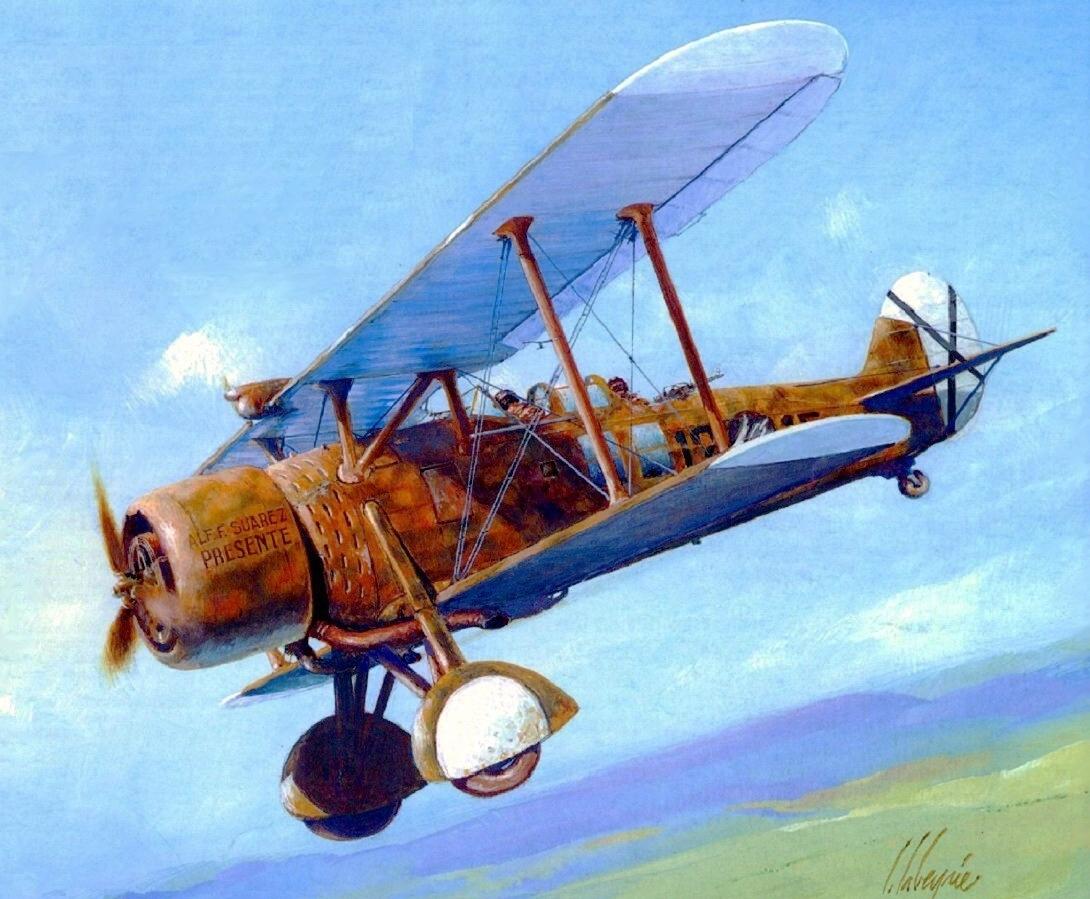Labeyrie Lionel. Истребитель Romeo 37.