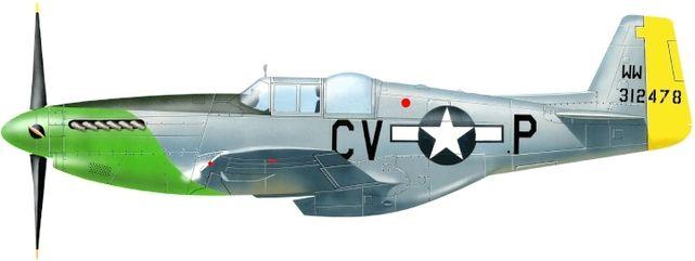 Petit Jean-Jacques. Истребитель P-51B.