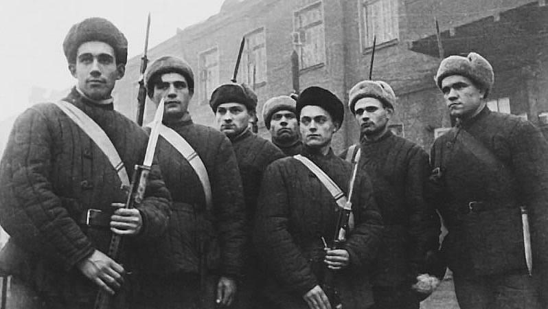 Ополченцы. Октябрь, 1941 г.