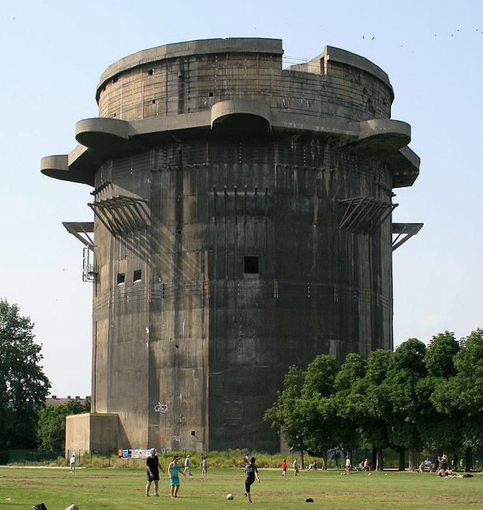 Боевая башня 3-го поколения в Аугартене.
